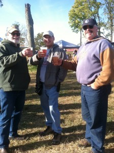 WDCU Guys at the Shenandoah Wine Festival